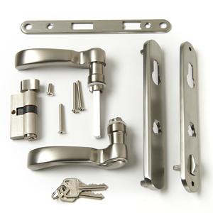 Andersen storm door handle set Traditional style nickel 42302
