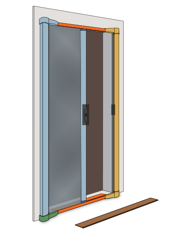 Andersen Retractable Screen Doors Zef Jam