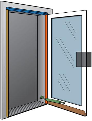 Andersen 3D Fullview Storm Door