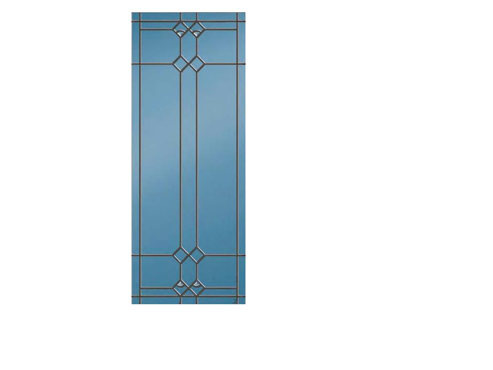 Decorative Fullview Window 37206