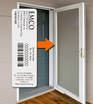 Enter Your Andersen Or Emco Storm Door Serial Number To Shop For  Replacements Parts For Your