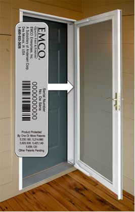 Finding Your Storm Door Serial Number